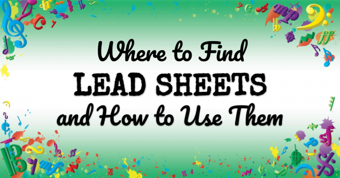VMT124 Lead sheet basics Where to find them and how to use them