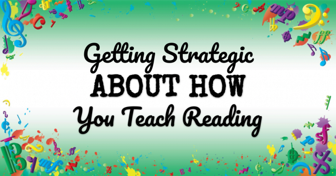 VMT125 Getting strategic about how you teach reading