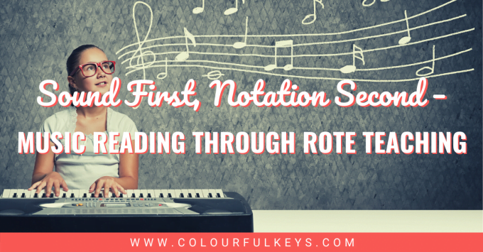 Sound First, Notation Second Music Reading Through Rote Teaching facebook 1