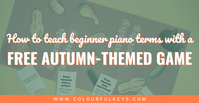 You Butternut Squash Me in This Free Autumn-Themed Beginner Piano Terms Game facebook 2