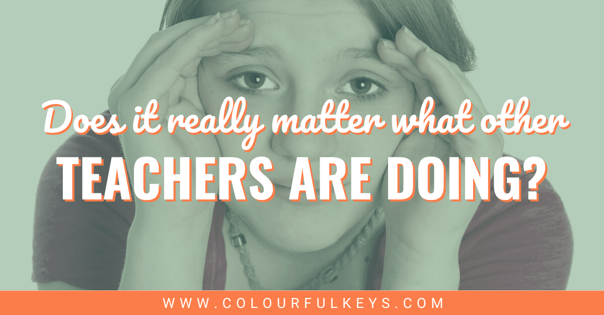 Does it Matter What Other Teachers Are Doing facebook 2