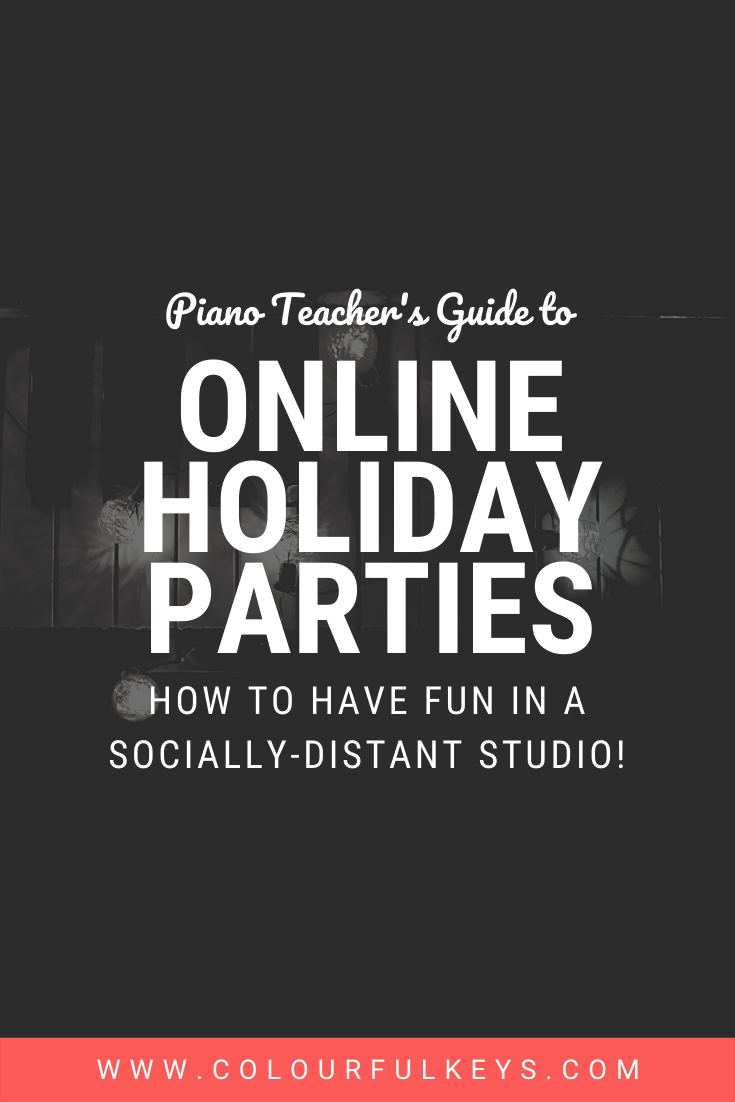 online christmas piano party