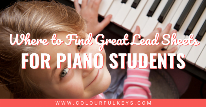 Where to Find Great Lead Sheets for Piano Students facebook 1