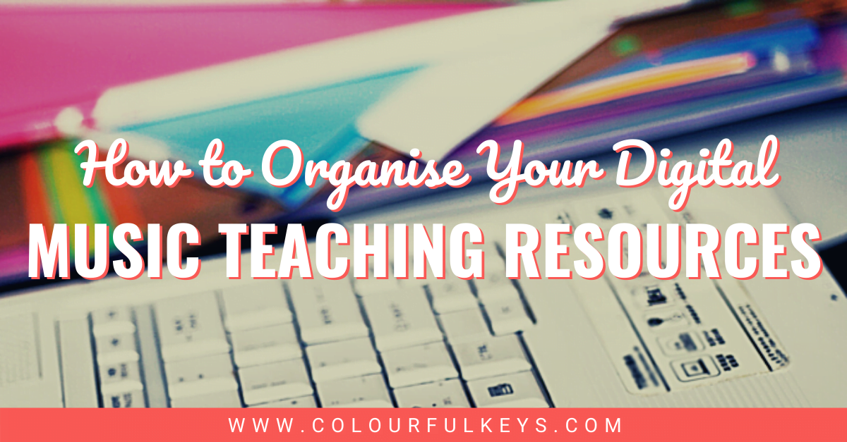 How to Organise Digital Music Teaching Resources Facebook 1