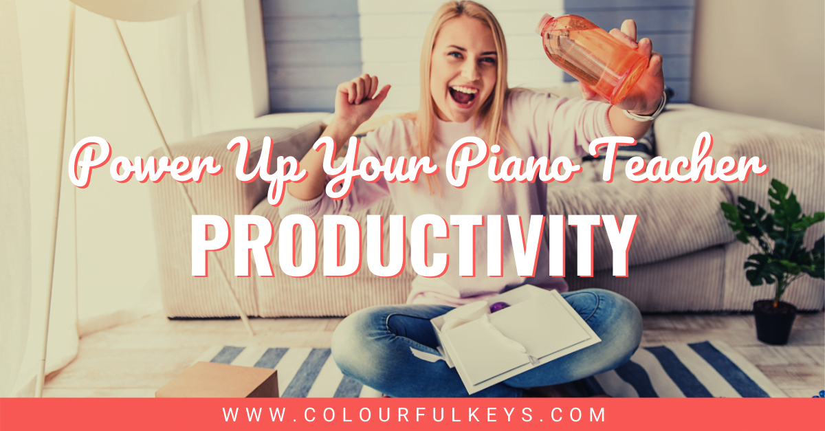 Power Up Your Piano Teacher Productivity facebook 1