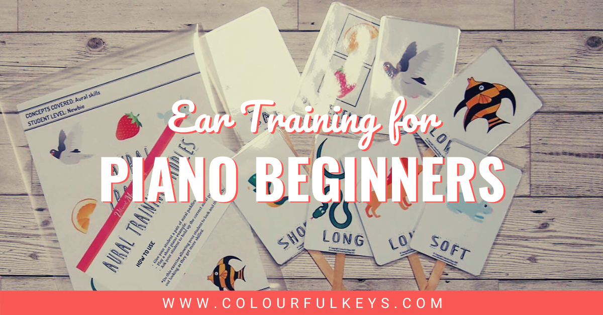Ear Training for Piano Beginners facebook 1