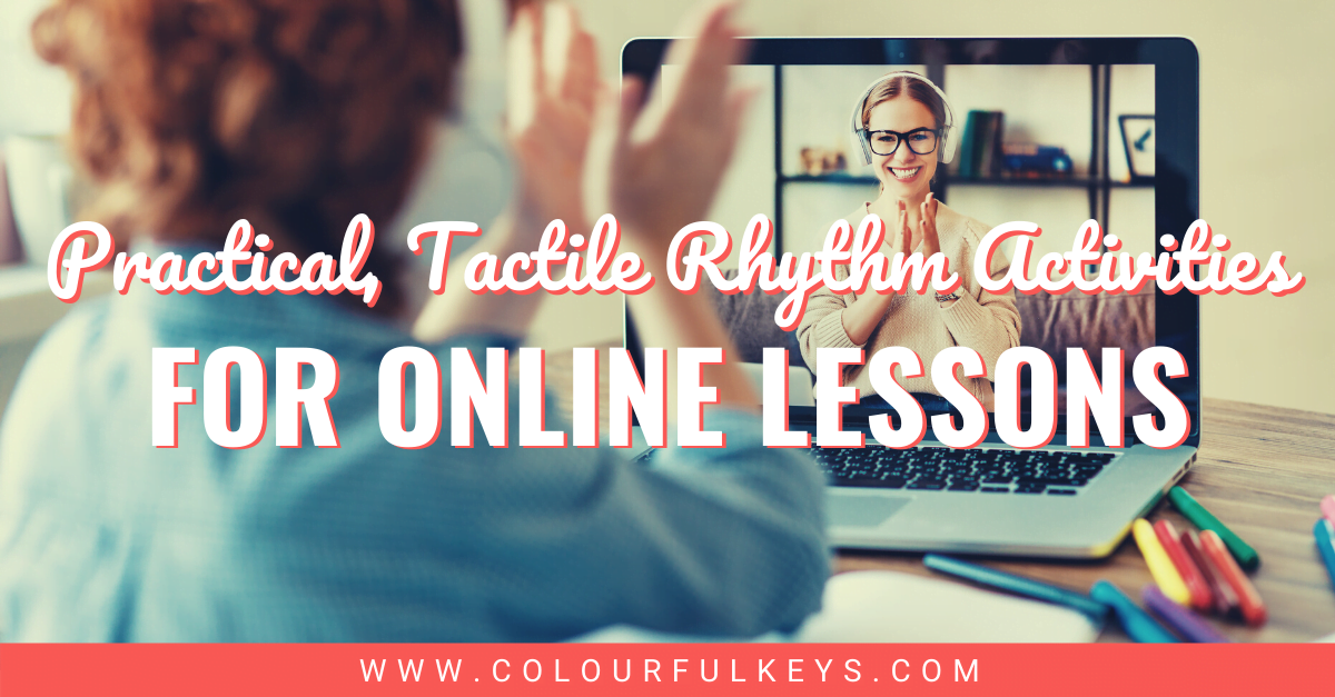 Practical Tactile Rhythm Activities for Online Lessons Facebook 1