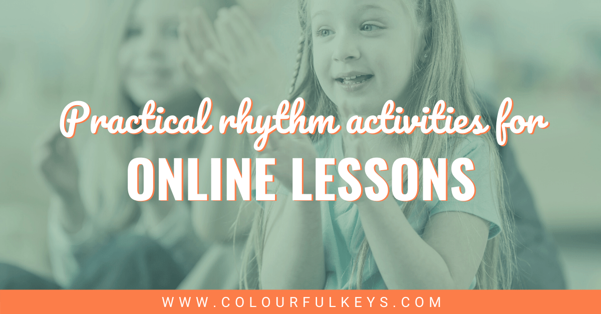Practical Tactile Rhythm Activities for Online Lessons Facebook 2