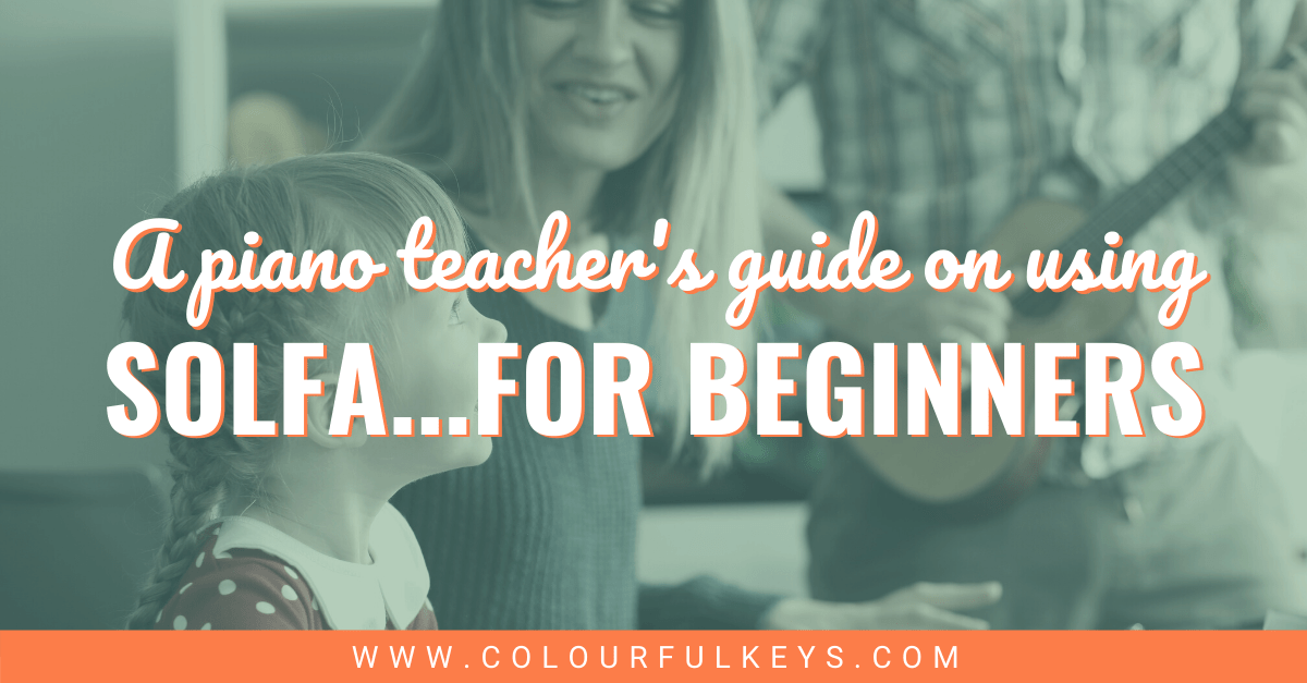 Solfa for Piano Teachers...For Beginners facebook 2