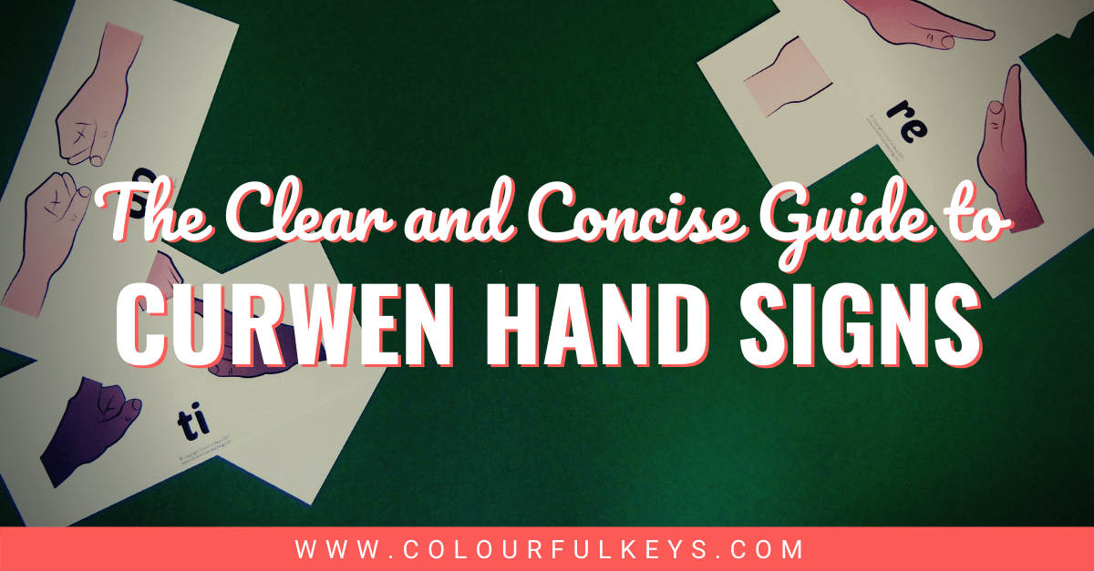 The Clear and Concise Guide to Curwen Hand Signs facebook 1