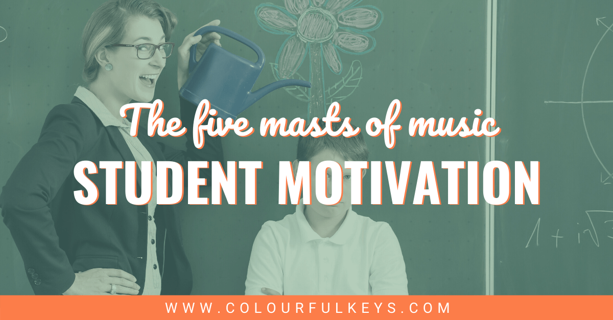 The 5 Masts of Music Student Motivation facebook 2