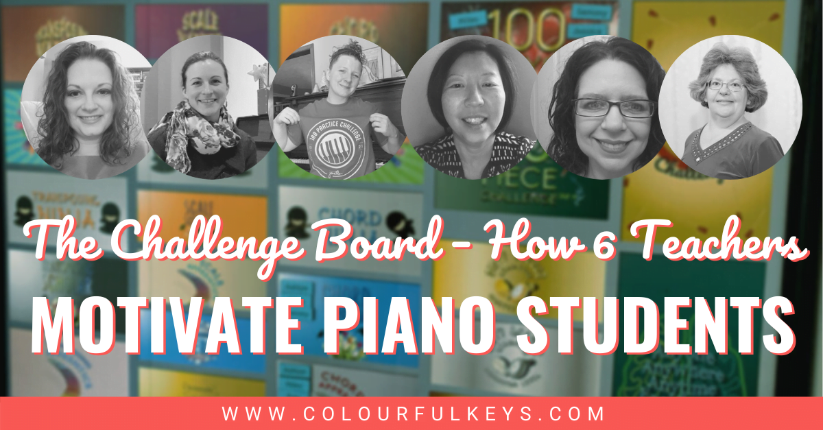 The Challenge Board – How 6 Teachers Motivate Piano Students facebook 1