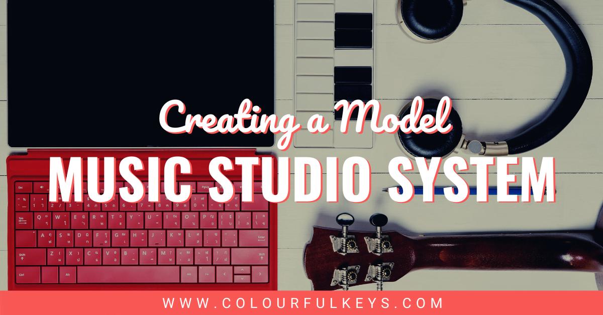 Creating a Model Music Studio System facebook 1