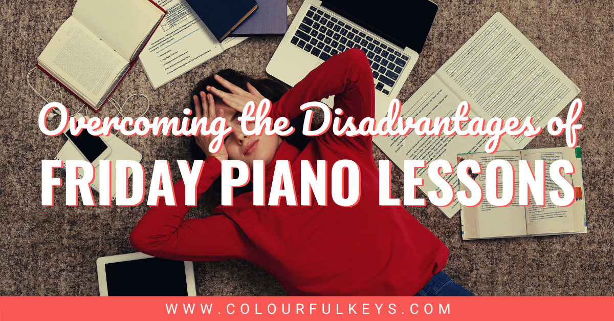 Overcoming the Disadvantage of Friday Piano Lessons facebook 1