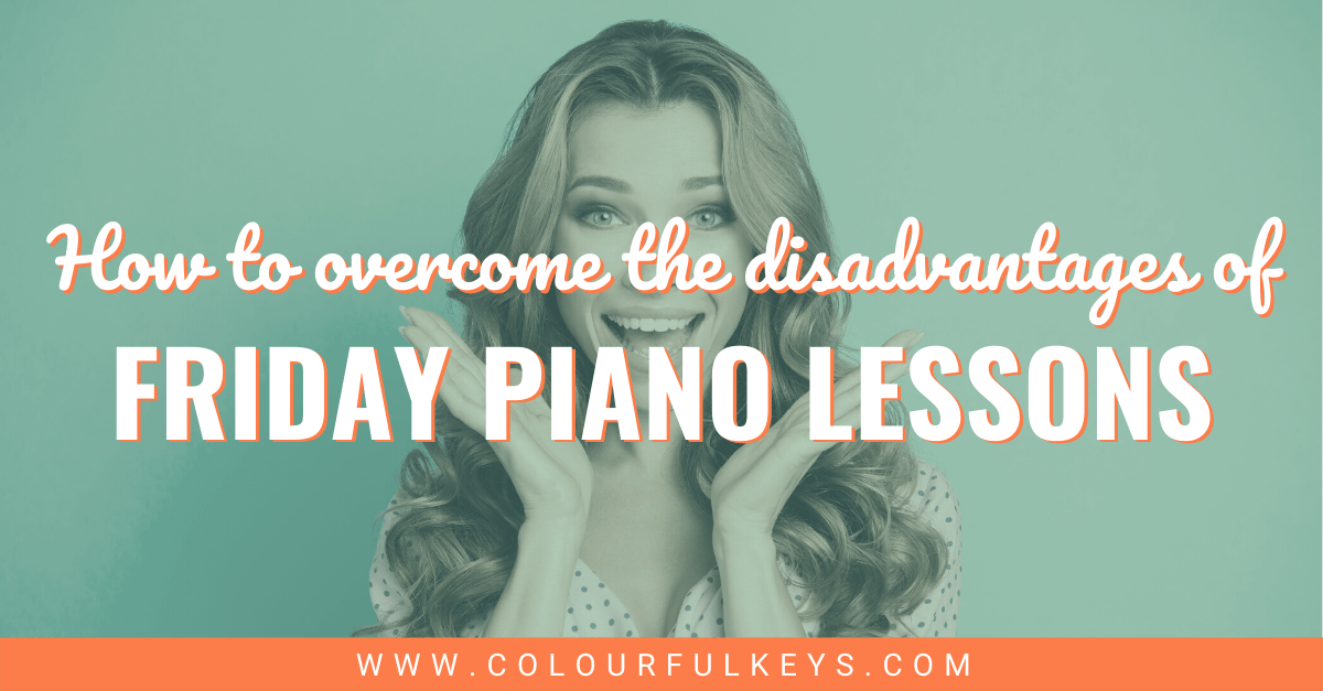 Overcoming the Disadvantage of Friday Piano Lessons facebook 2