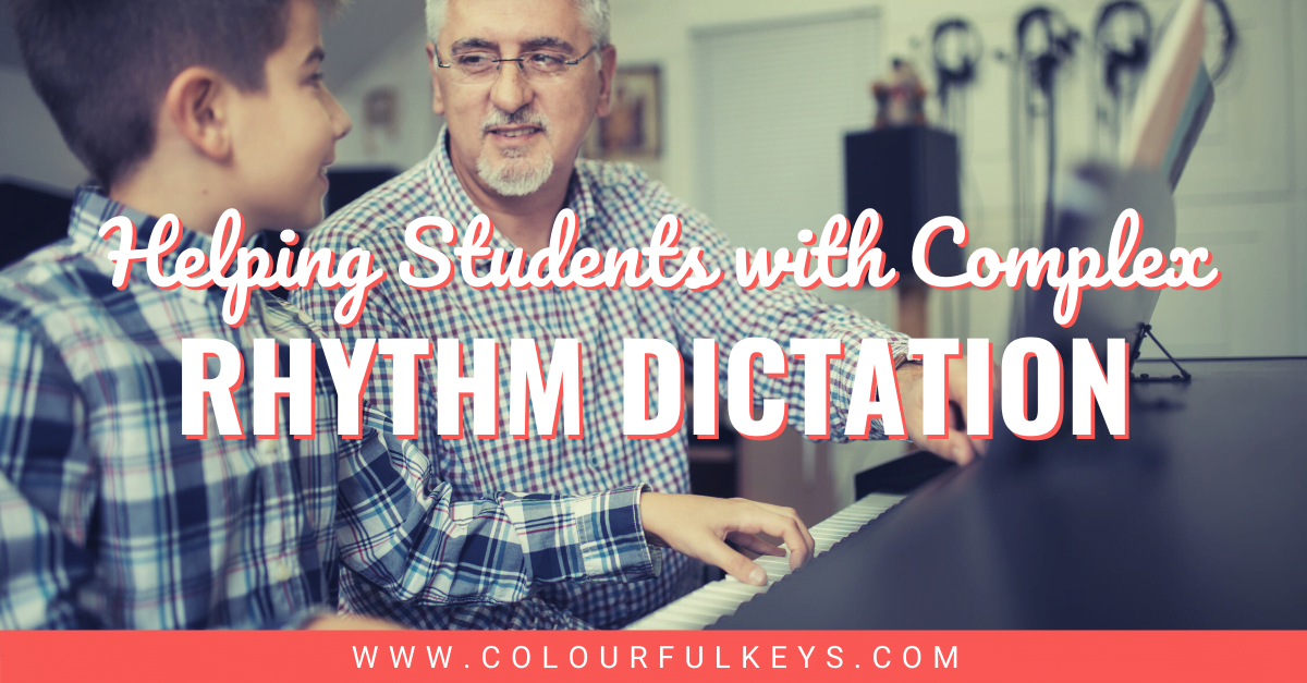 Help Students with Complex Rhythm Dictation Facebook 1