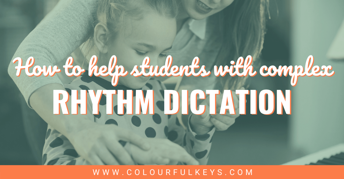Help Students with Complex Rhythm Dictation Facebook 2