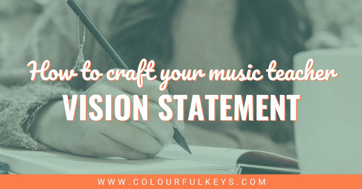 Your Music Teacher Vision Statement Facebook 2