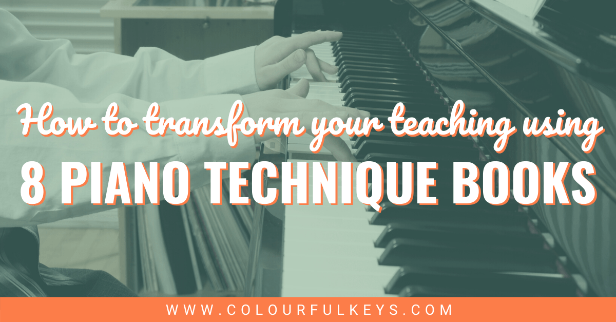 8 of the Best Piano Technique Books to Transform Your Teaching Facebook 2